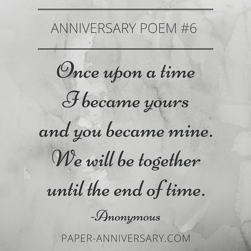 1st Wedding Anniversary Poems Tumblr thumbnail