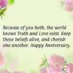 20th Wedding Anniversary Wishes For Parents