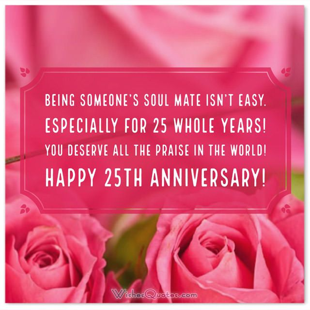25th Marriage Anniversary Quotes Facebook thumbnail