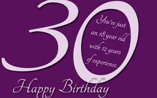 30th Birthday Sayings Facebook thumbnail