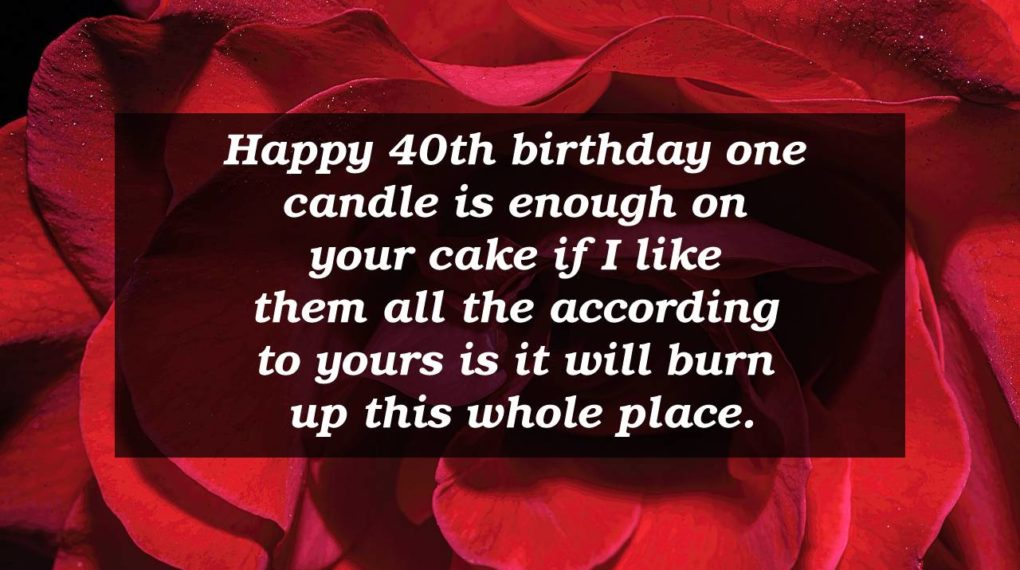 40th Birthday Inspirational Quotes Facebook thumbnail