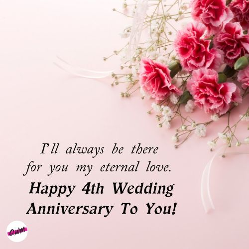 4th Wedding Anniversary Wishes To Wife Tumblr thumbnail