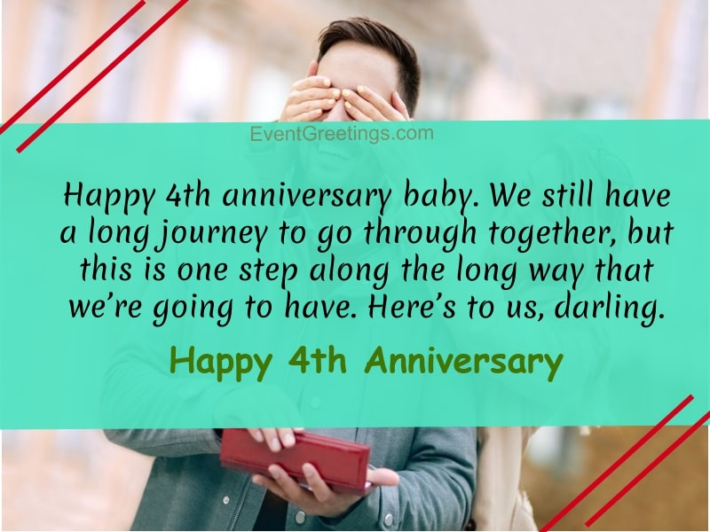 4th Wedding Anniversary Wishes Twitter thumbnail