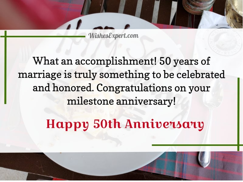 50 Years Anniversary Wishes Facebook thumbnail