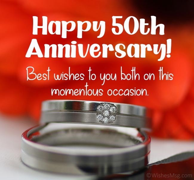 50th Anniversary Wishes Facebook thumbnail