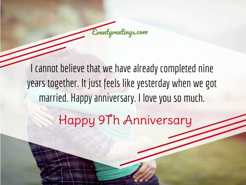 9th Wedding Anniversary Quotes For Husband Twitter thumbnail