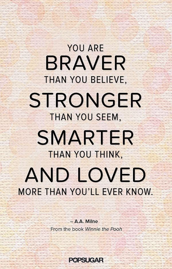 Aa Milne Quotes You Are Braver Tumblr thumbnail