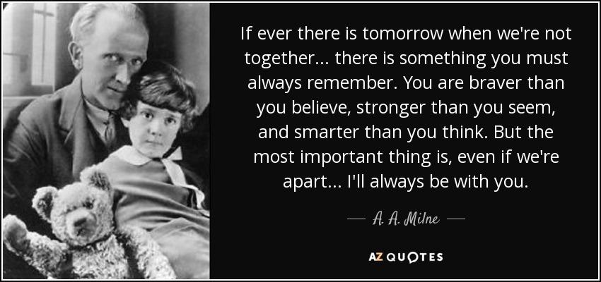 Aa Milne Winnie The Pooh Quotes Tumblr thumbnail