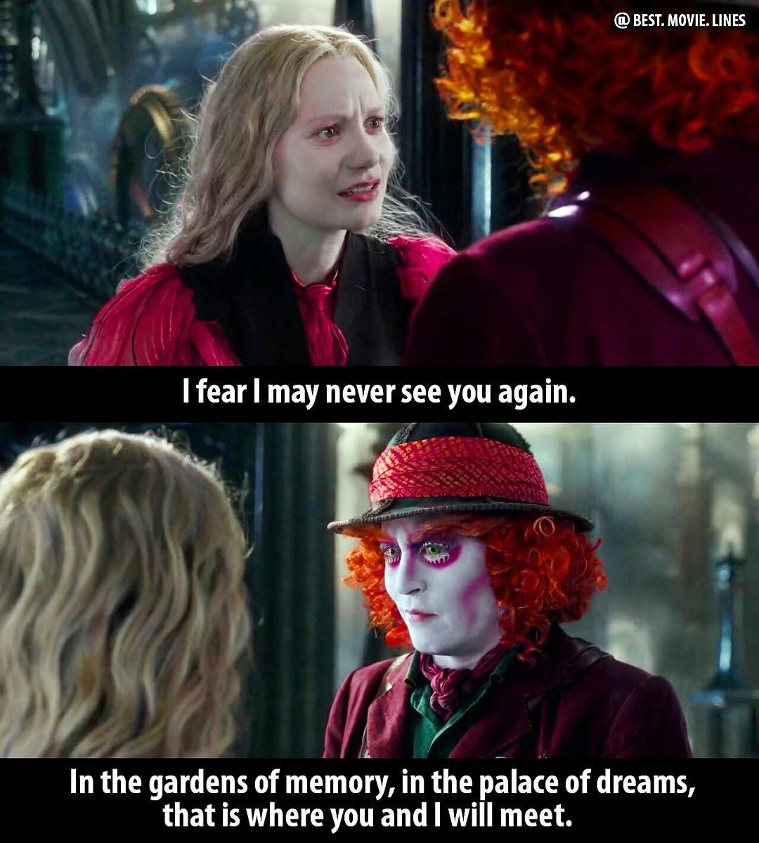 Alice In Wonderland Movie Quotes thumbnail