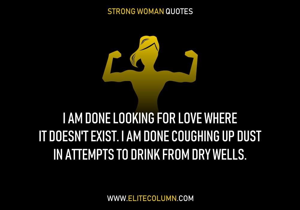 Am Strong Woman Quotes Facebook thumbnail