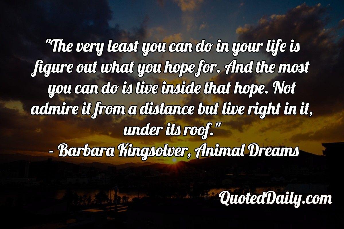Animal Dreams Quotes Facebook thumbnail