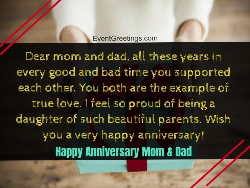 Anniversary Message For Parents thumbnail