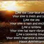 Anniversary Sayings For Couple