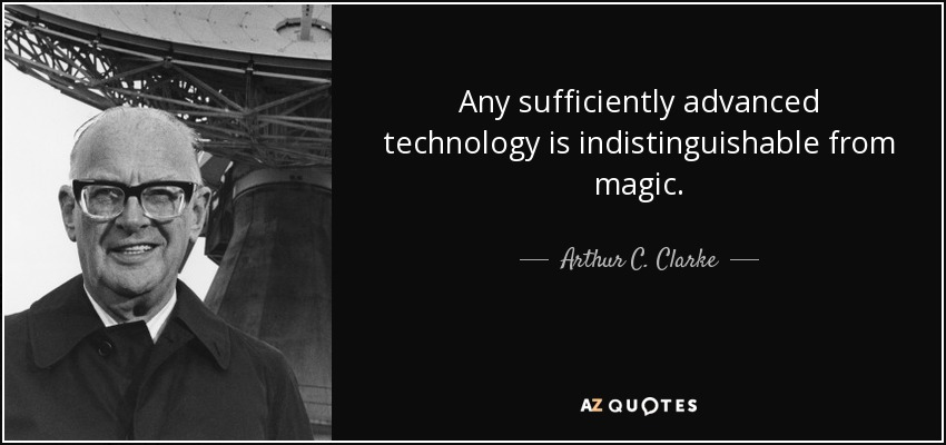 Arthur C Clarke Magic Quote Twitter thumbnail