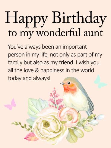 Aunty Birthday Wishes thumbnail