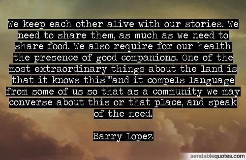 Barry Lopez Quotes Facebook thumbnail