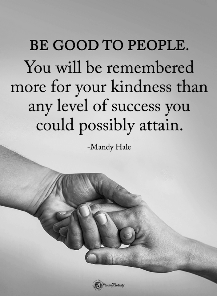 Be Good To People Quotes Pinterest thumbnail