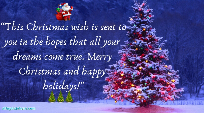 Beautiful Christmas greetings thumbnail