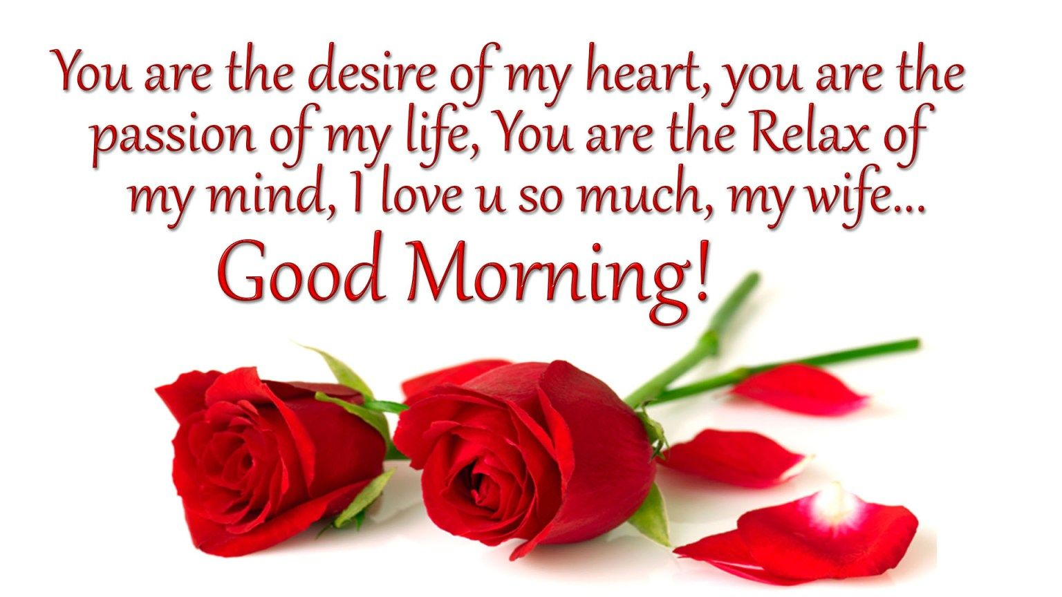 Beautiful Good Morning Message For Wife Twitter thumbnail