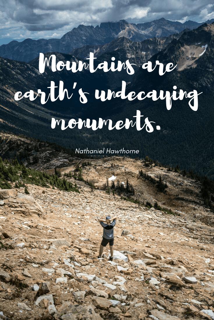 Beautiful Mountain Quotes Pinterest thumbnail