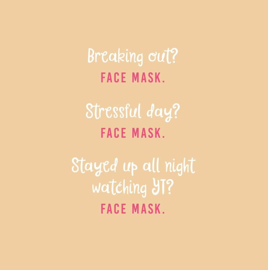 Beauty Face Mask Quotes Pinterest thumbnail