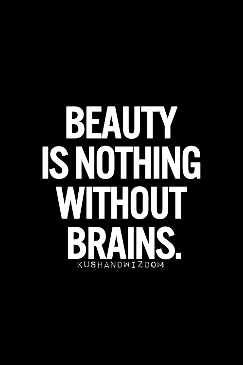 Beauty Without Brains Quotes Pinterest thumbnail