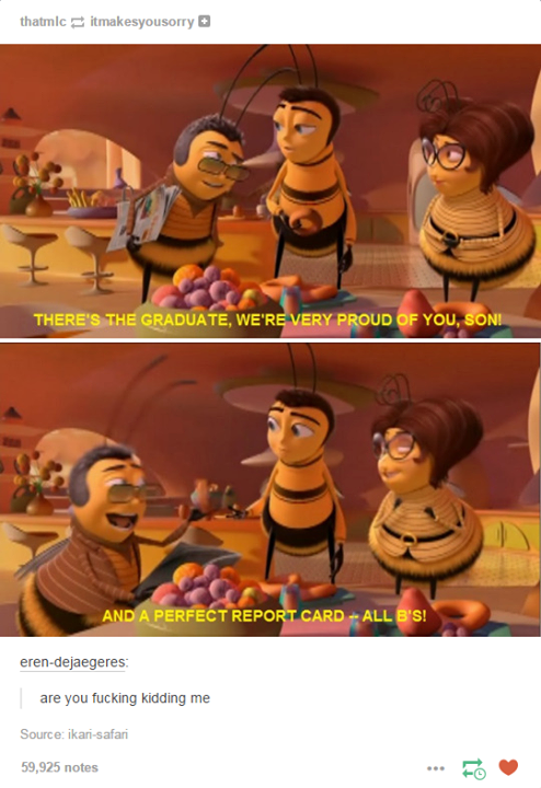 Bee Movie Quotes Facebook thumbnail
