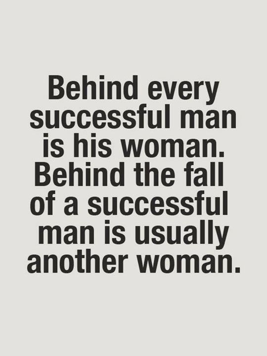 Behind The Success Of Every Man Quote Facebook thumbnail