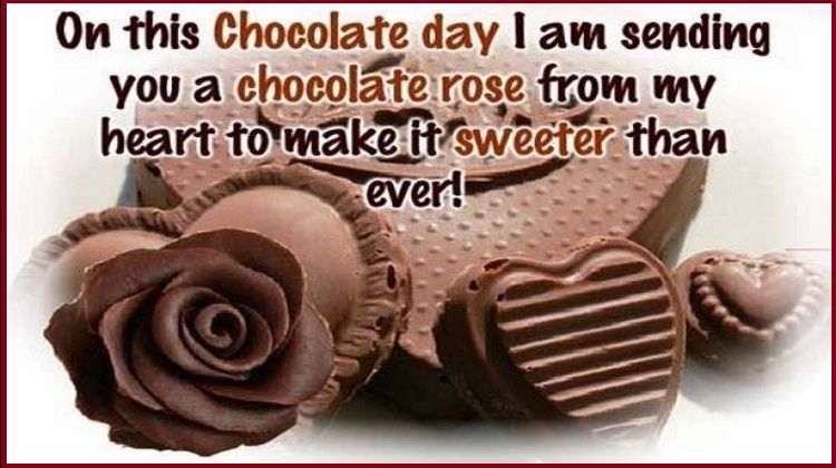 Best Message For Chocolate Day Twitter thumbnail