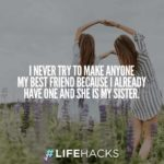 Best Quotes About Sister Twitter
