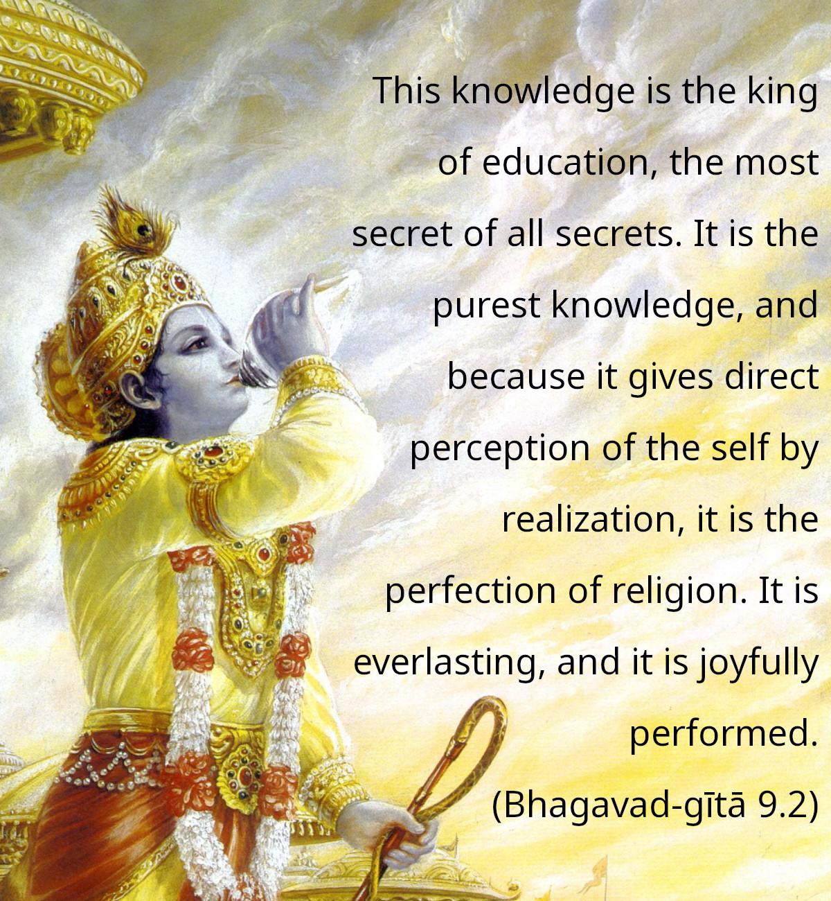 Bhagavad Gita Quotes On Education Pinterest thumbnail