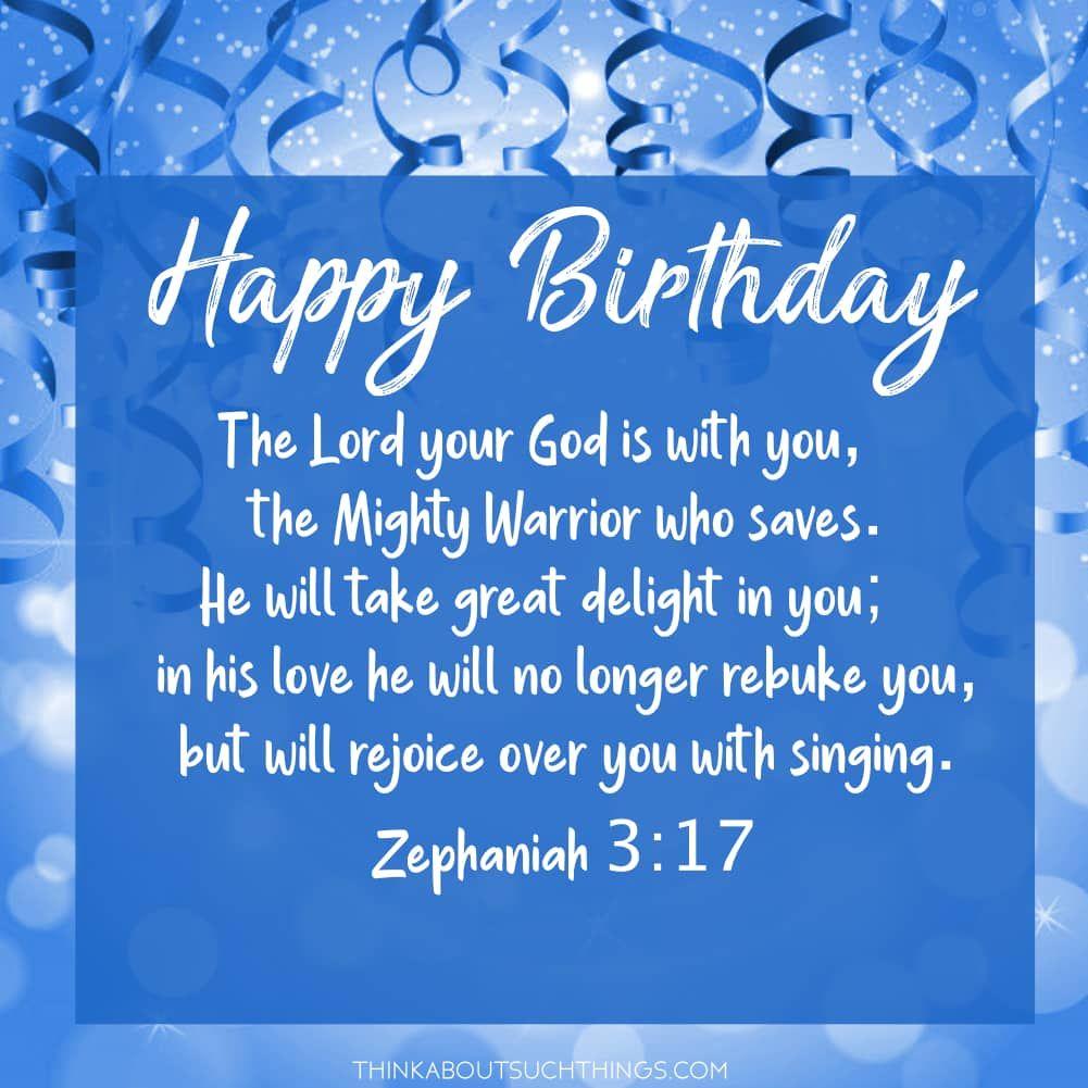 Bible Verses For Birthdays Blessing Twitter thumbnail