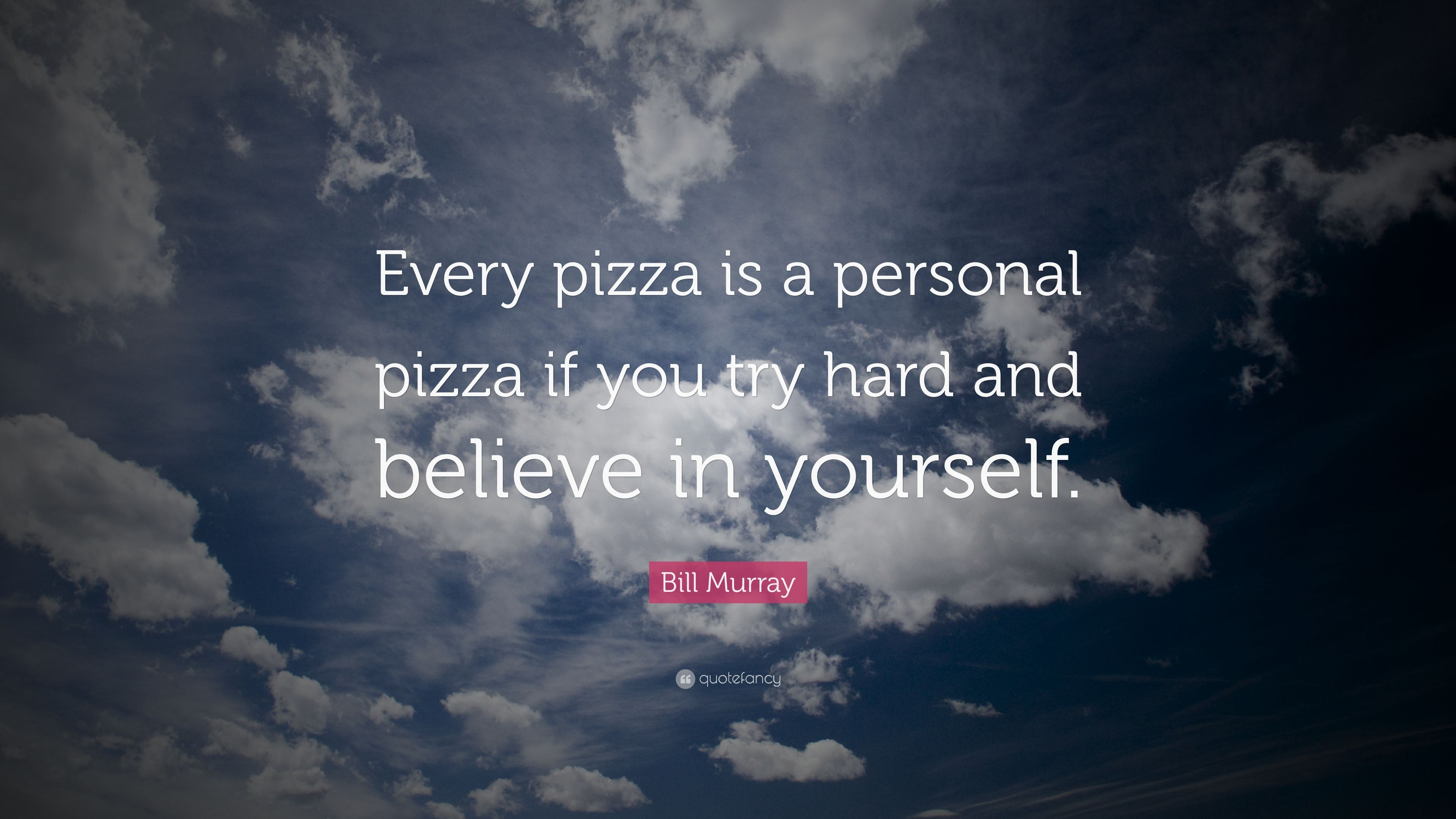 Bill Murray Pizza Quote Facebook thumbnail