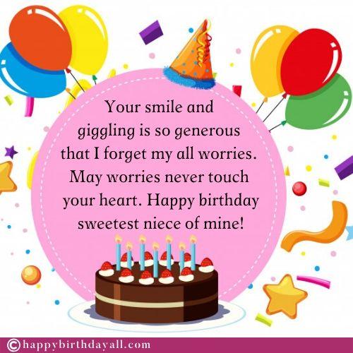 Birthday Greetings For Niece thumbnail