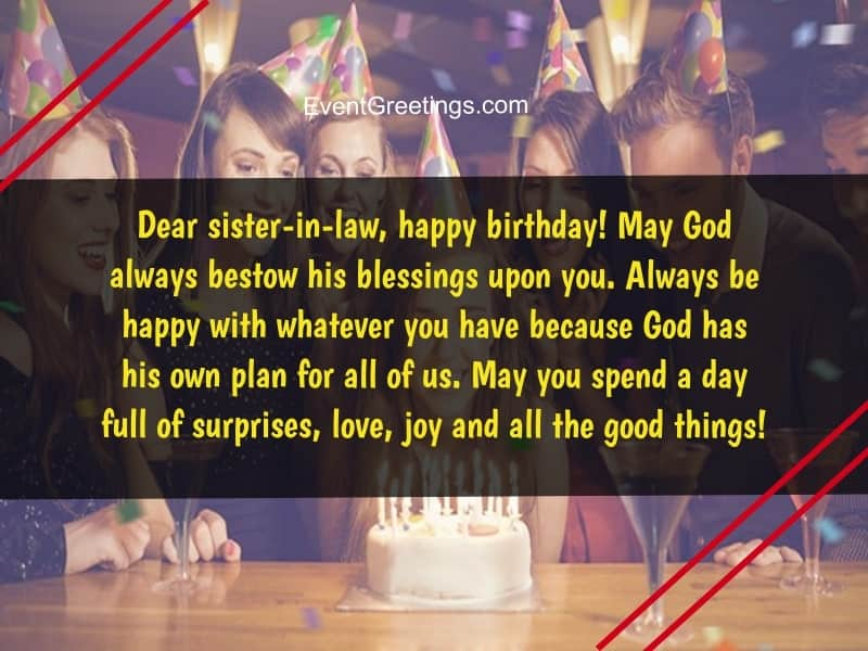 Birthday Greetings For Sister In Law Pinterest thumbnail