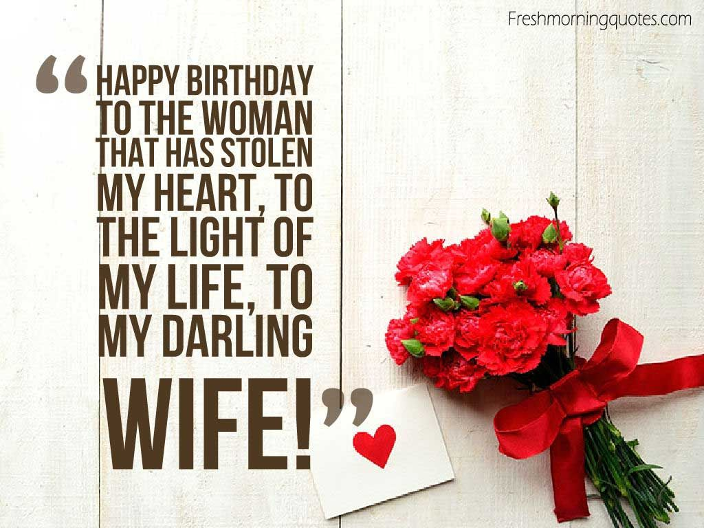 Birthday Greetings For Wife thumbnail