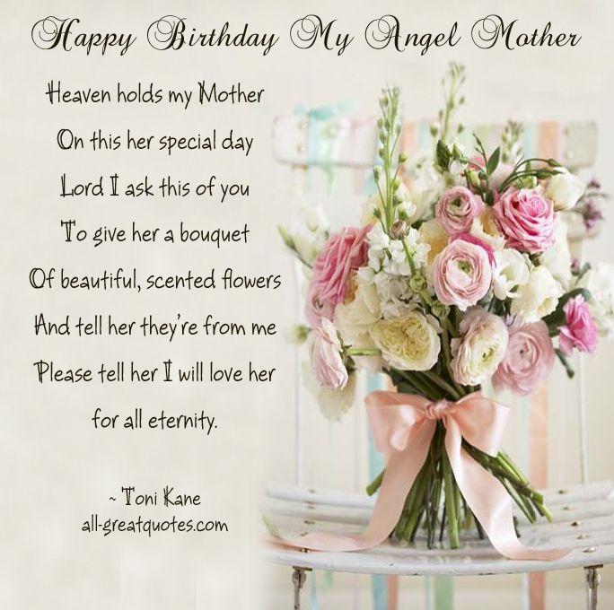 Birthday In Heaven Mom thumbnail
