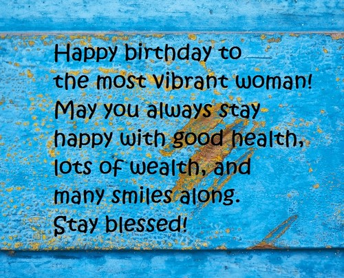 Birthday Wishes For A Successful Woman Twitter thumbnail