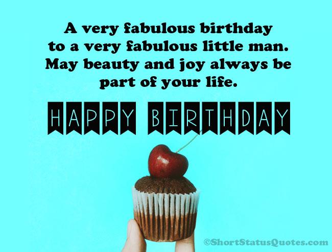 Birthday Wishes For Little Boy Pinterest thumbnail