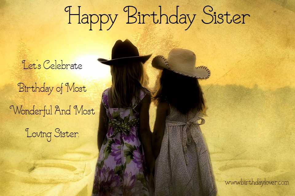 Birthday Wishes For Sister Quotes Pinterest thumbnail