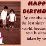 Birthday Wishes For Sister Quotes Tumblr