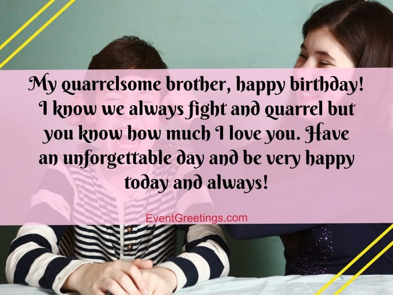 Birthday Wishes For Younger Brother From Elder Sister Pinterest thumbnail