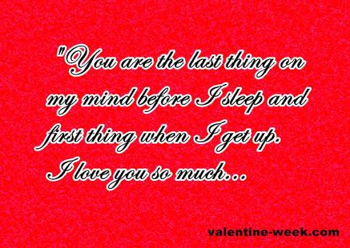 Boyfriend Valentine Quotes thumbnail