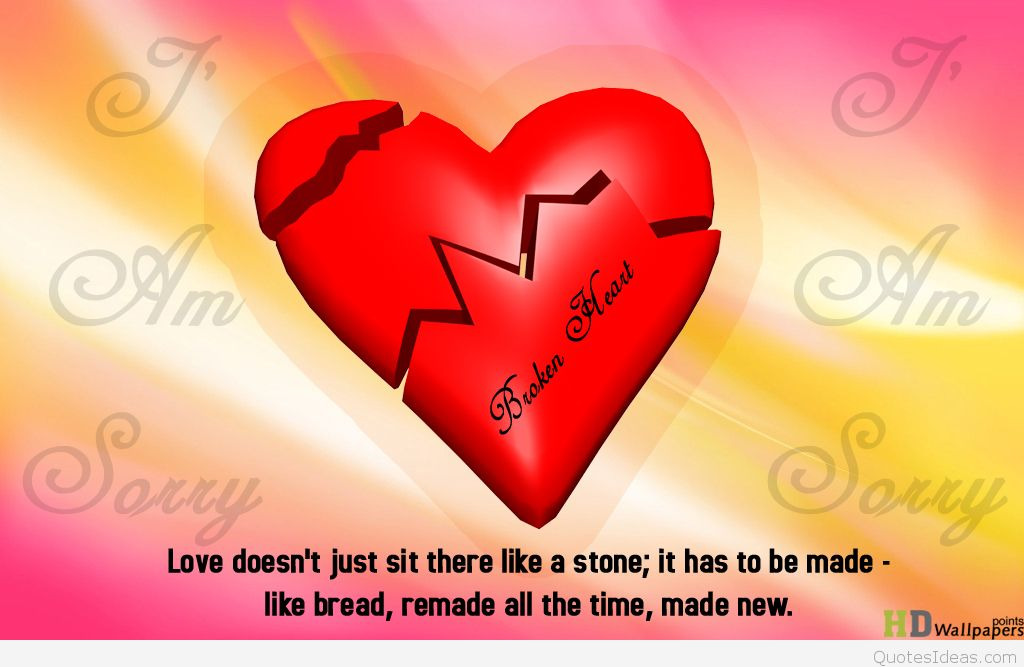 Broken Heart Valentine Quotes Twitter thumbnail