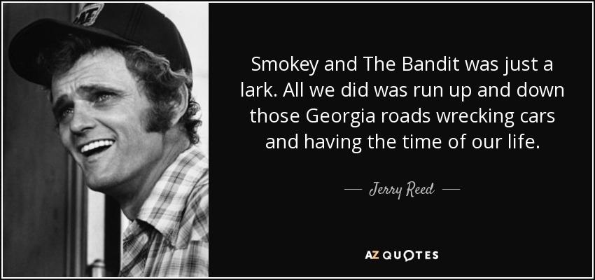 Burt Reynolds Smokey And The Bandit Quotes Facebook thumbnail