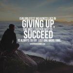 Caption Of Success Tumblr