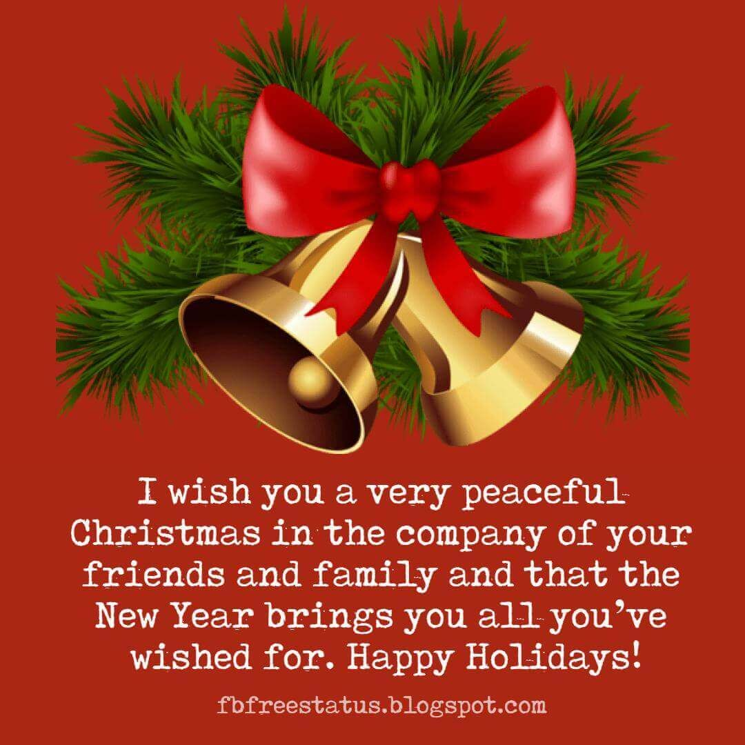 Christmas New Year Wishes Messages Pinterest thumbnail