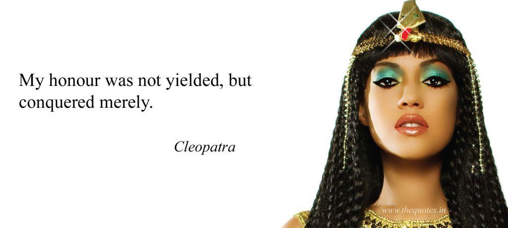 Cleopatra Famous Quotes thumbnail