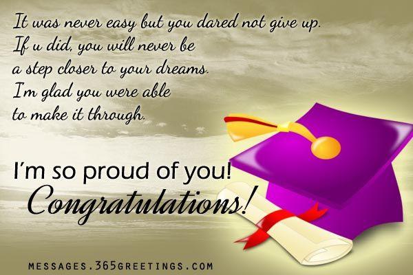 Congratulation To Graduates Sayings Facebook thumbnail