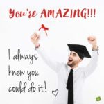 Congratulations Message For Graduation Boyfriend